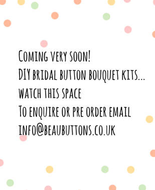 button bouquet tutorial diy kit bridal wedding